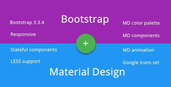 CodeCanyon BMD Bootstrap & Material Design 11704157