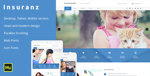 ThemeForest Insuranz Insurance Services Template 11625842