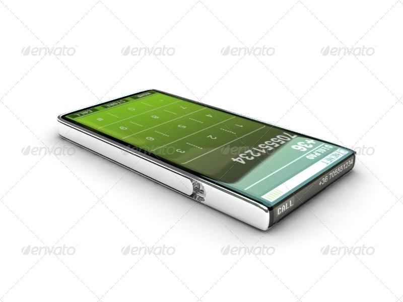 LINC Smartphone (Concept) - 3DOcean Item for Sale