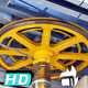 Pulley Wheel Mechanism Rolling - VideoHive Item for Sale