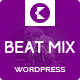 BeatMix Music and Band WordPress Theme - ThemeForest Item for Sale