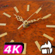 Wall Clock Old Wood Time - VideoHive Item for Sale