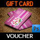 Cake Shop Voucher Gift Card Template Vol.2 - GraphicRiver Item for Sale