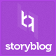 StoryBlog - WordPress Theme for Story Tellers - ThemeForest Item for Sale