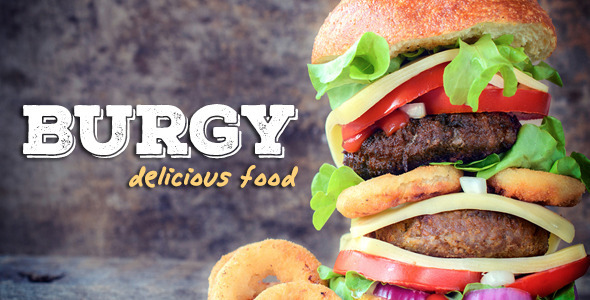 ThemeForest BURGY Fast Food Burgers Pizzas Salads Wordpress 11708824