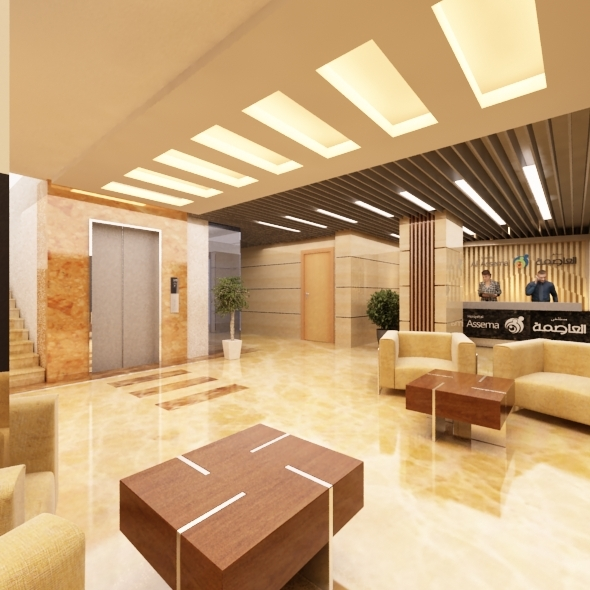 Main entrance hospital - 3DOcean Item for Sale