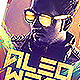 EDM DJ Flyer  - GraphicRiver Item for Sale