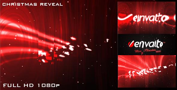 Christmas reveal logo reveal