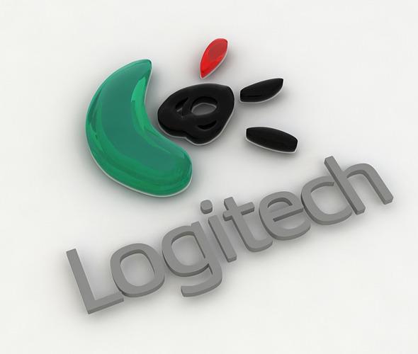 Logitech_logo_render_setup - 3DOcean Item for Sale