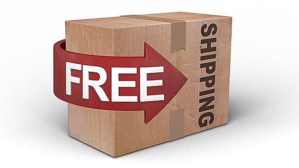 Free Shipping Cardboard 2-Pack