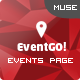 EventGO - One Page Parallax Muse Theme - ThemeForest Item for Sale