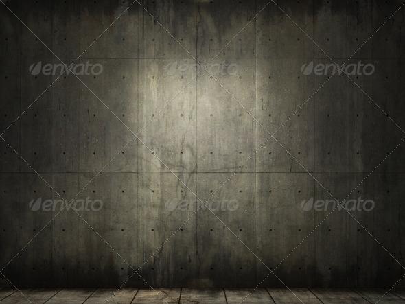 PhotoDune grunge background of concrete room 1176016