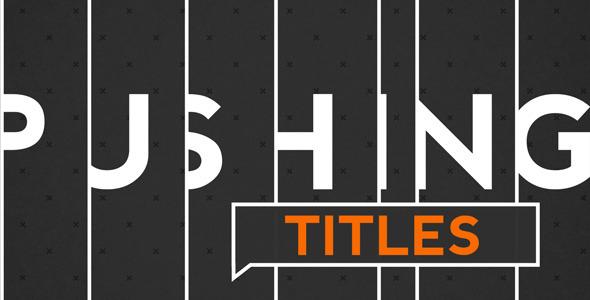 Pushing Titles