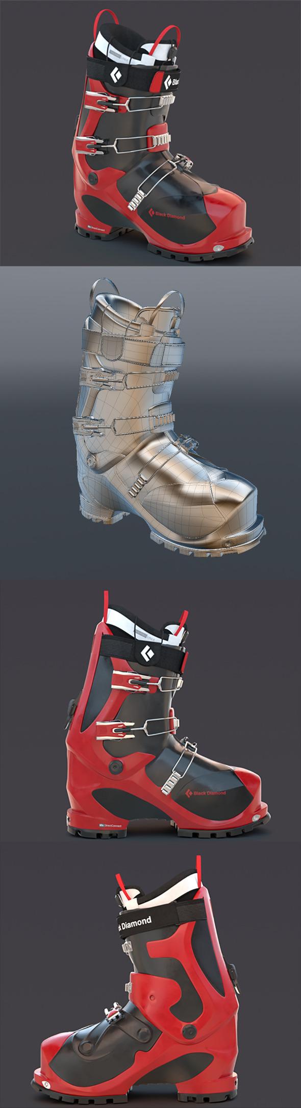 3DOcean Ski boot 11713148