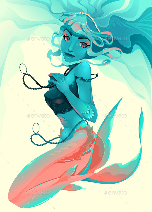 Portrait of a Mermaid