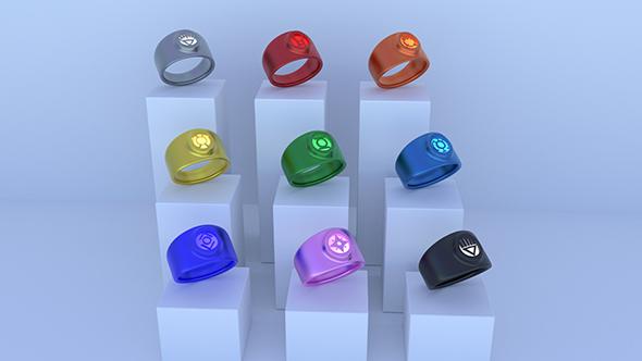 3DOcean Lantern Rings 11713416