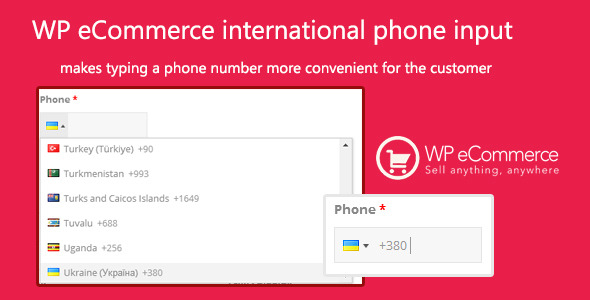 CodeCanyon WP eCommerce international phone input 11713544
