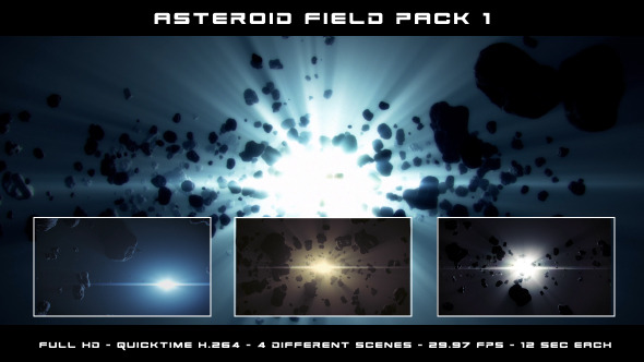 Asteroid Field Pack 1