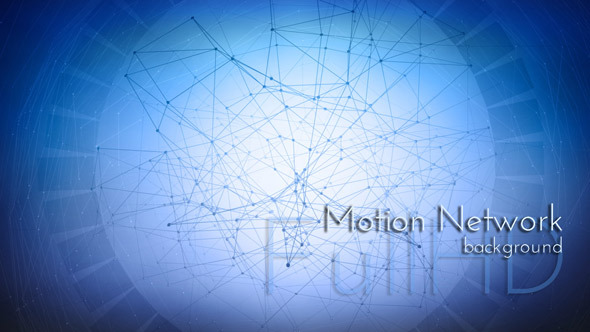Abstract Motion Network Background