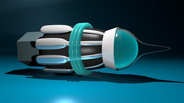 Sci-fi Blaster - 3DOcean Item for Sale