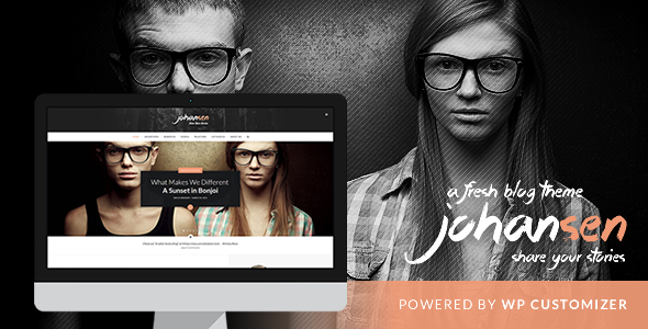 ThemeForest Johansen Creative Niche Blog Theme 11371649