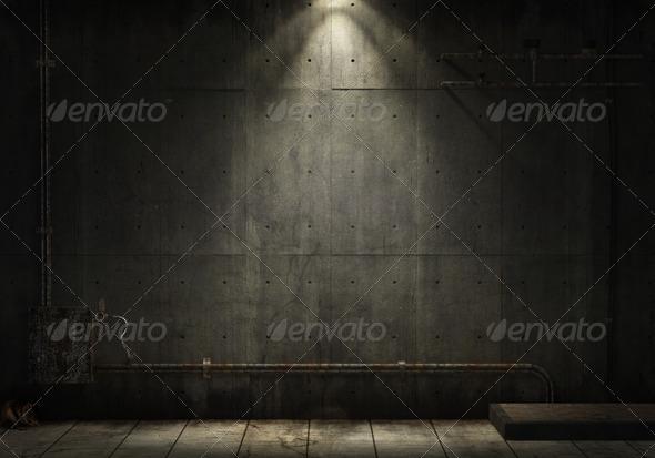 PhotoDune grunge industrial background 1176880