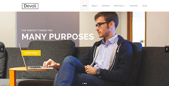 ThemeForest Devoll Multi-Purpose HTML Theme 11714265
