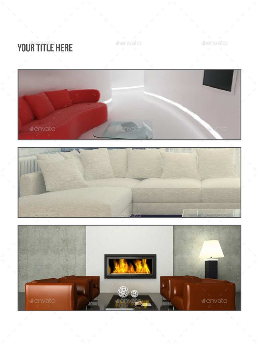 Interior Design Ipad Templates By Azadcsstune Graphicriver