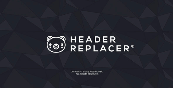 CodeCanyon Header Replacer 11677264