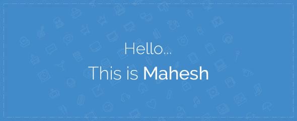 MaheshSamudra