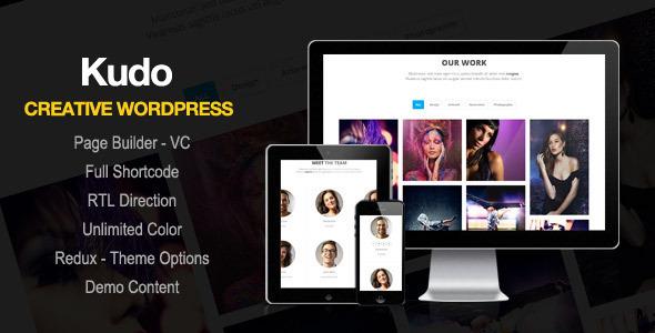 Kudo - Portfolio WordPress Theme