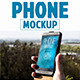 Phone Mock-Up - GraphicRiver Item for Sale