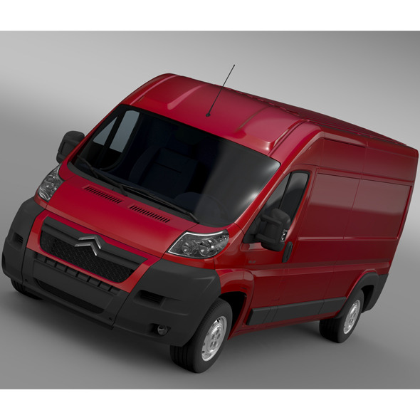 Citroen Relay Van L3H2 2006-2014 - 3DOcean Item for Sale