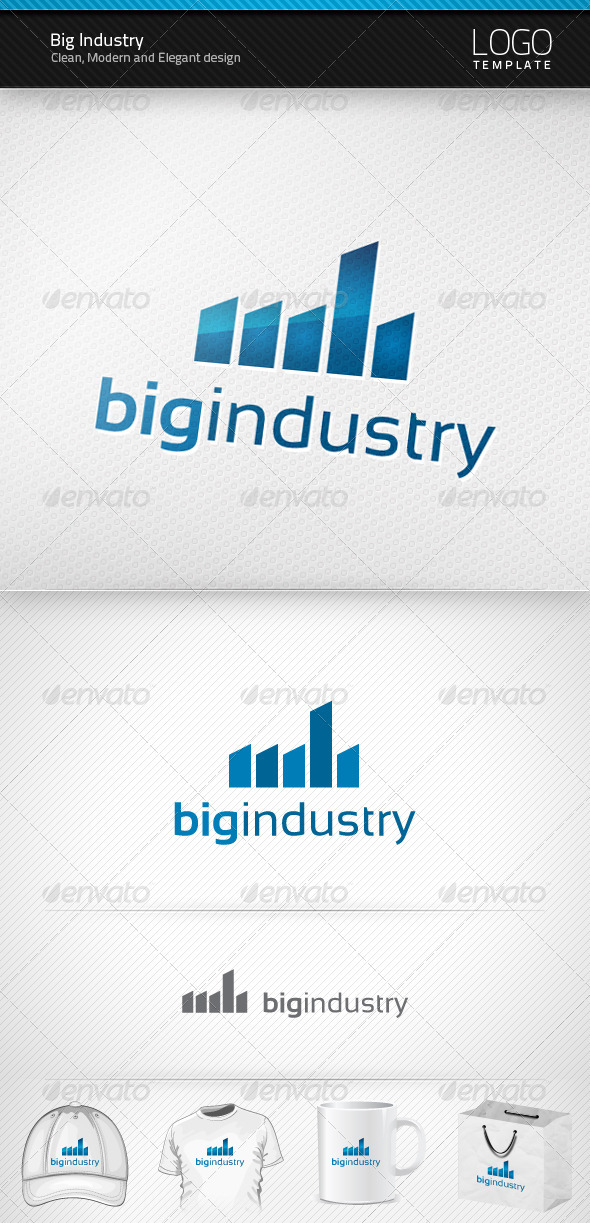 Big Industry Logo - Objects Logo Templates