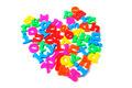Alphabets in Heart Shape - PhotoDune Item for Sale