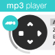 XML controlled MP3Player with playlist(vectorised) - ActiveDen Item for Sale