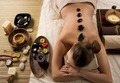 Spa Woman. Hot Stones Massage - PhotoDune Item for Sale