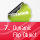 Dynamic Flip Object - ActiveDen Item for Sale