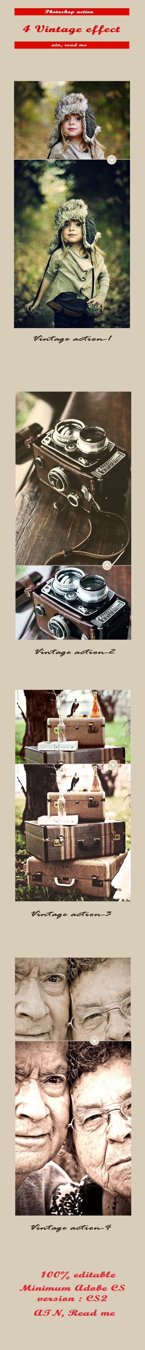 GraphicRiver 4 Vintage Photo Effect 11726784