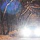 Night Snow Road