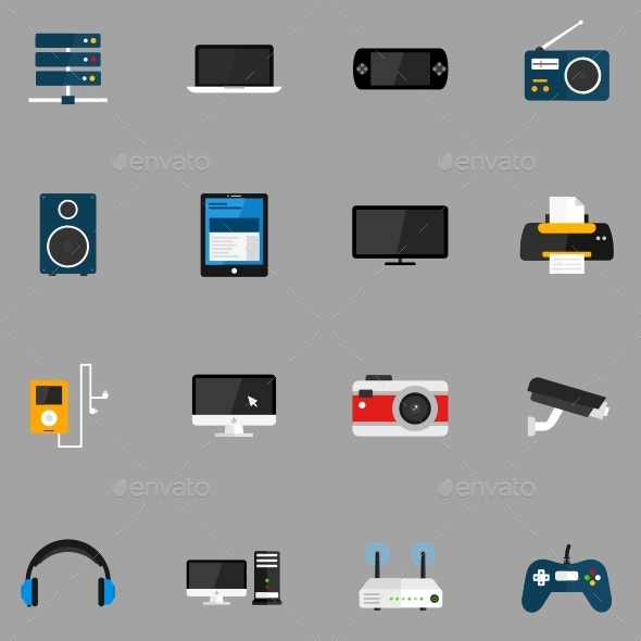 GraphicRiver Devices Icons 11727266