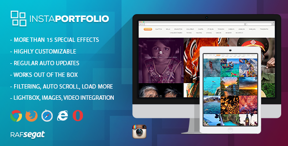 CodeCanyon Instagram Portfolio Wordpress Plugin 11353958