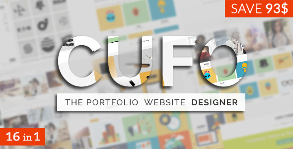 Cufo - Responsive Customizable Portfolio Theme