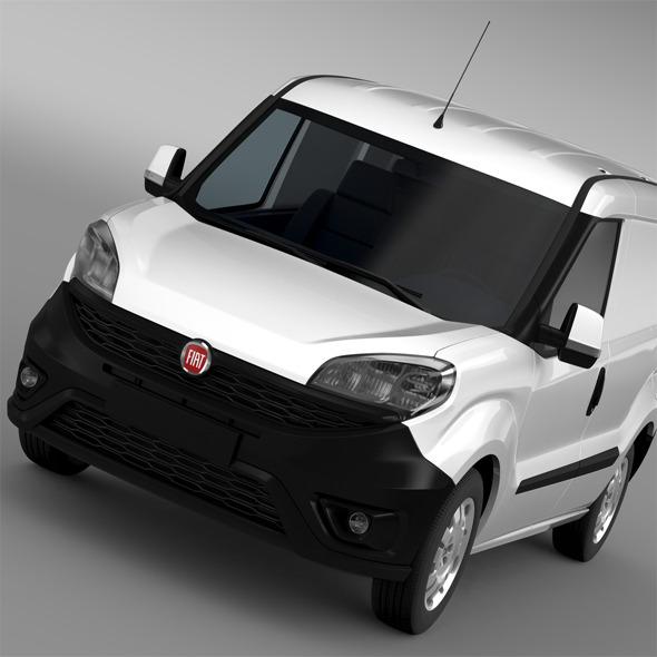 3DOcean Fiat Doblo Cargo 263 2015 11728880