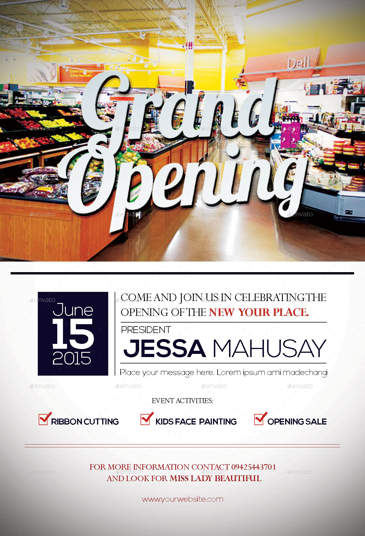 Grand Opening Flyer by NaphtaliStoics – Grand Opening Flyer
