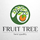 Fruit Tree Logo Template - GraphicRiver Item for Sale