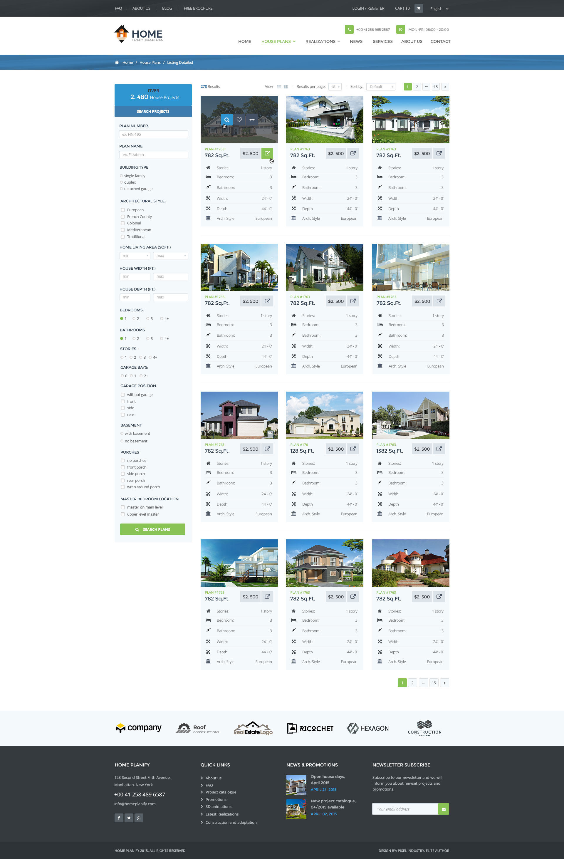 home planify house plans construction psd template by pixel home planify house plans construction psd template