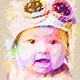 Watercolor Portrait Frame  - GraphicRiver Item for Sale