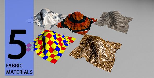 3DOcean Fabric Materials 11734915