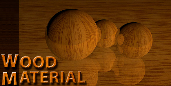 Wood Material - 3DOcean Item for Sale